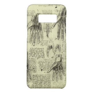 Anatomy of the Human Hand by Leonardo da Vinci Case-Mate Samsung Galaxy S8 Case