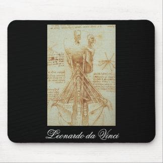 Anatomy of the Neck by Leonardo Da Vinci c. 1515 Mouse Pad