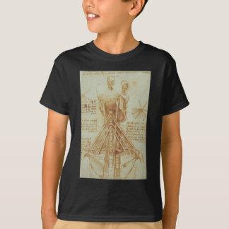 Anatomy of the Neck by Leonardo Da Vinci c. 1515 T-Shirt