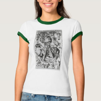 anatomy of  the respiratory system T-Shirt