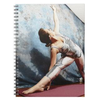 Anatomy of Yoga: Trikonasana, Triangle (Bones) Notebook