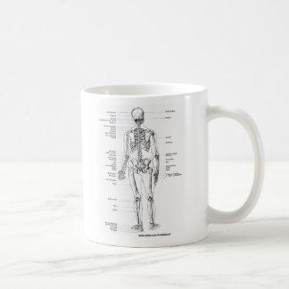 ANATOMY SKELETON T-SHIRTS AND GIFTS COFFEE MUG