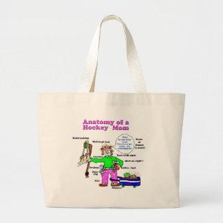 anatomyofahockeymom5-1.jpg large tote bag