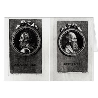 Anaxagorus  and Epictetus Card