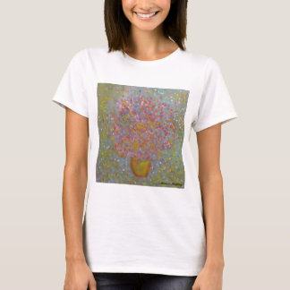 Anca Sofia Decorative Art: Blues flowers T-Shirt