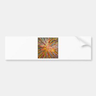 Anca Sofia Decorative Art Colours game Bumper Sticker