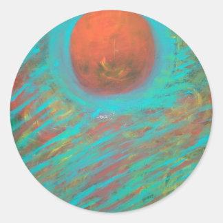 Anca Sofia Decorative Art: Here comes the sun Classic Round Sticker