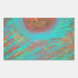Anca Sofia Decorative Art: Here comes the sun Rectangular Sticker