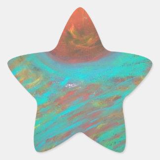Anca Sofia Decorative Art: Here comes the sun Star Sticker