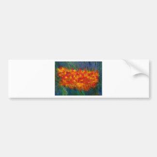 Anca Sofia Decorative Art Island Bumper Sticker