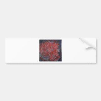 Anca Sofia Decorative Art Nebula Bumper Sticker
