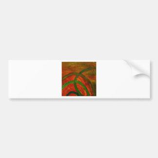 Anca Sofia Decorative Art Windings Bumper Stickers