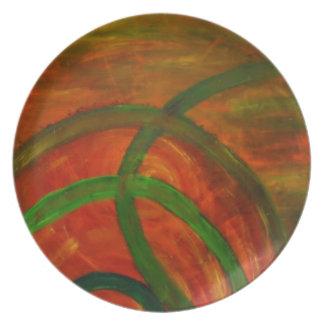Anca Sofia Decorative Art: Windings Party Plate