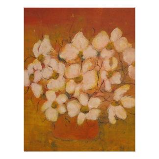 Anca Sofía: Flores de Mariposa Membrete A Diseño
