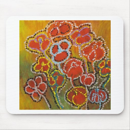 Anca Sofia: Flowers for love Mouse Pads