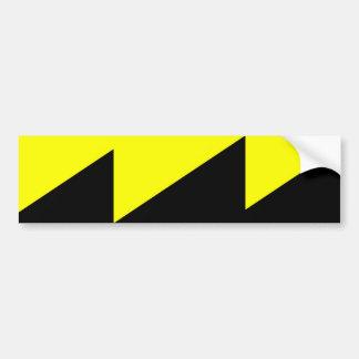 Ancap, Colombia Political flag Car Bumper Sticker