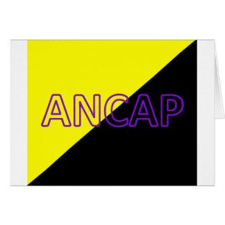 ANCAP Colors & Text Flag Card