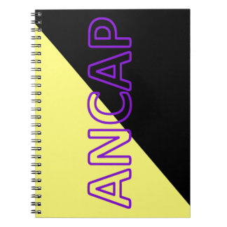 ANCAP Colors & Text Flag Notebook