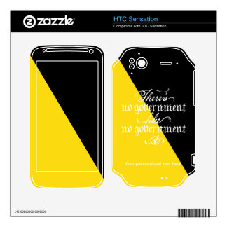 Ancap Skin Decals For HTC Sensation