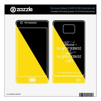 Ancap Skin Samsung Galaxy S II Skins