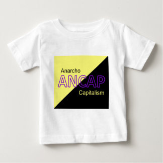ANCAP Yellow and Black Flag Baby T-Shirt