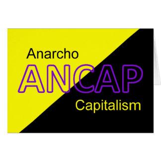 ANCAP Yellow and Black Flag Card