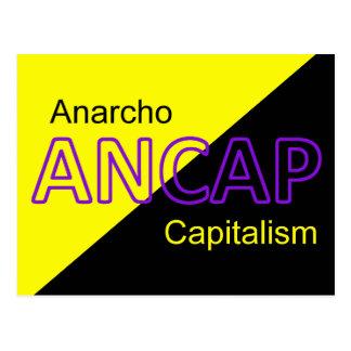 ANCAP Yellow and Black Flag Postcard