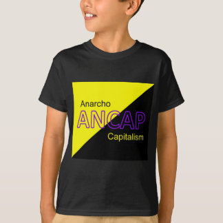 ANCAP Yellow and Black Flag T-Shirt