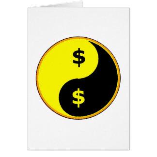 Ancap Yin Yang Greeting Card
