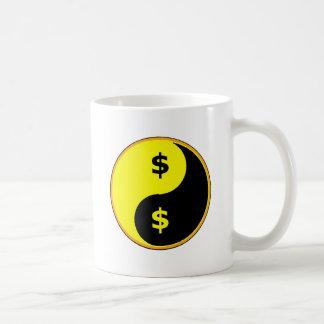 Ancap Yin Yang Basic White Mug