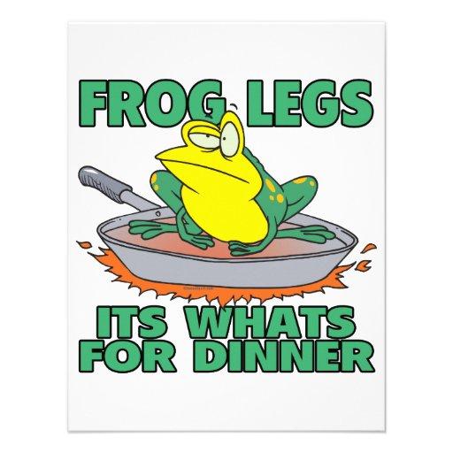 ancas de rana sus cuál está para la cena comunicado