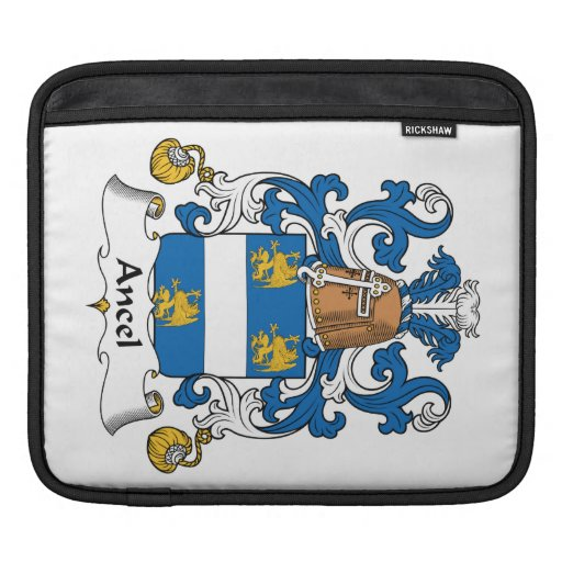 Ancel Family Crest Sleeves For iPads