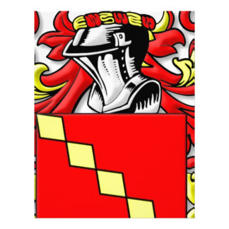 Ancell Coat of Arms Letterhead