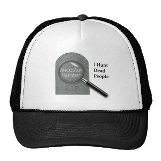 Ancestor Hunter Genealogist cap Trucker Hat