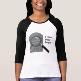 Ancestor Hunter Genealogist t-shirt
