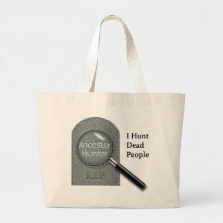 Ancestor Hunter Genealogist tote bag