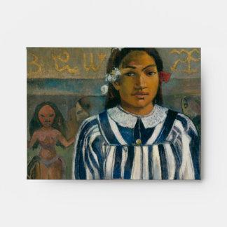 Ancestors of Tehamana by Paul Gauguin Envelope