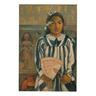 Ancestors of Tehamana by Paul Gauguin Wood Wall Decor