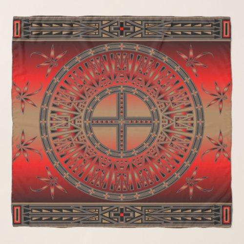 Ancestors Red scarf