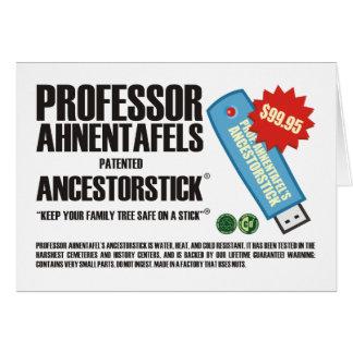 AncestorStick Tarjeta
