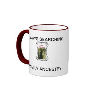 ANCESTRY GENEALOGY RINGER MUG
