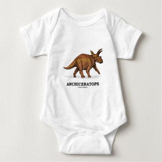 Anchiceratops (Ceratopsid) Baby Bodysuit