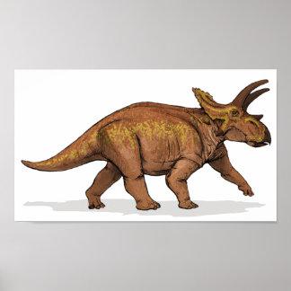 Anchiceratops - Cretaceous Dinosaur Portfolio Poster