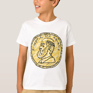 Anchient Coin Sketch T-Shirt