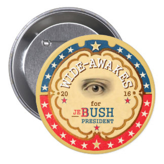 Ancho-Se despierta para Jeb Bush 2016 Pin