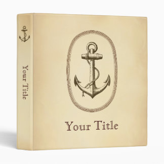 Anchor 3 Ring Binder