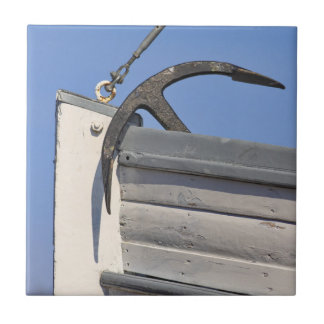 Anchor and Boat Tile
