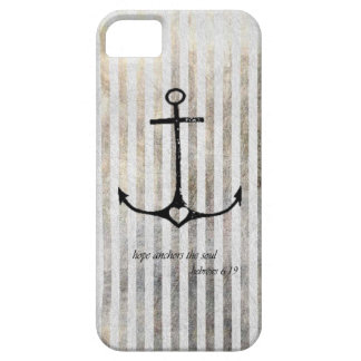 Anchor and hope iPhone SE/5/5s case