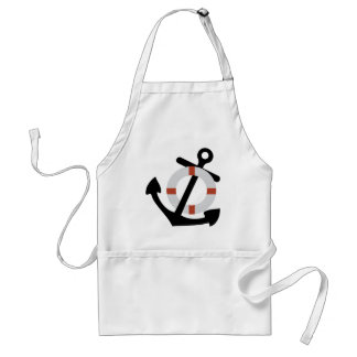anchor and lifesaver aprons