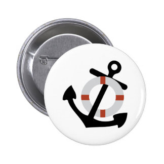 anchor and lifesaver pinback buttons
